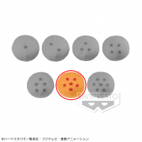 ドラゴンボール超 もっちりスクイーズドラゴンボール F.六星球(リュウシンチュウ)
