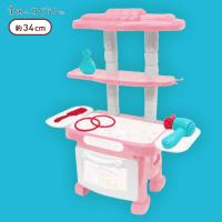 【A.ピンク】すみっコぐらし おままごとドレッサーセット