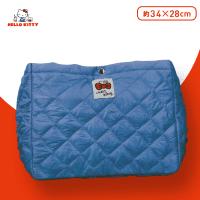 【A.ブルー】ハローキティ 2-WAYキルトショルダーバッグ