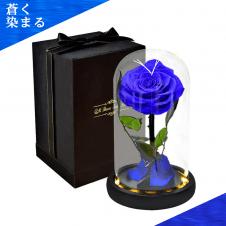 【蒼く染まる】Farantasy 創造的なバラの花LEDライト