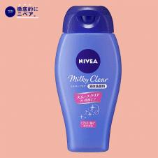 【徹底的にニベア】ニベア ミルキークリア洗顔料 スムースクリア 本体 ホワイトフローラルの香り 150ml