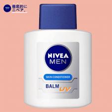 【徹底的にニベア】ニベアメン スキンコンディショナーバームUV 100ml 男性用 乳液