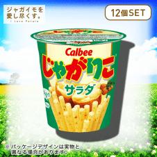 【ジャガイモを愛し尽くす。】カルビー じゃがりこ サラダ 12個セット