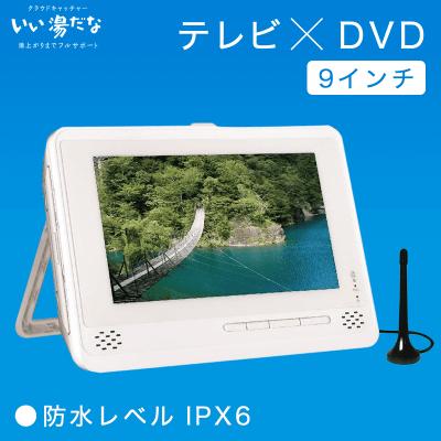 【数量限定】AKART 防水DVDプレーヤー