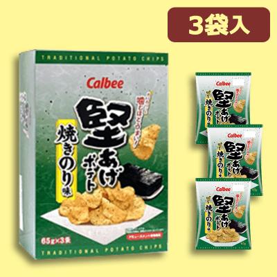 【焼きのり味】堅あげポテト BIGBOX